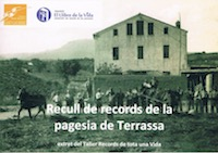 """Nou llibre """"Recull de records de la pagesia de Terrassa"""""""