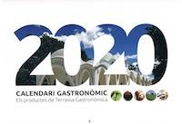 Nou calendari 2020 de Terrassa Gastronòmica