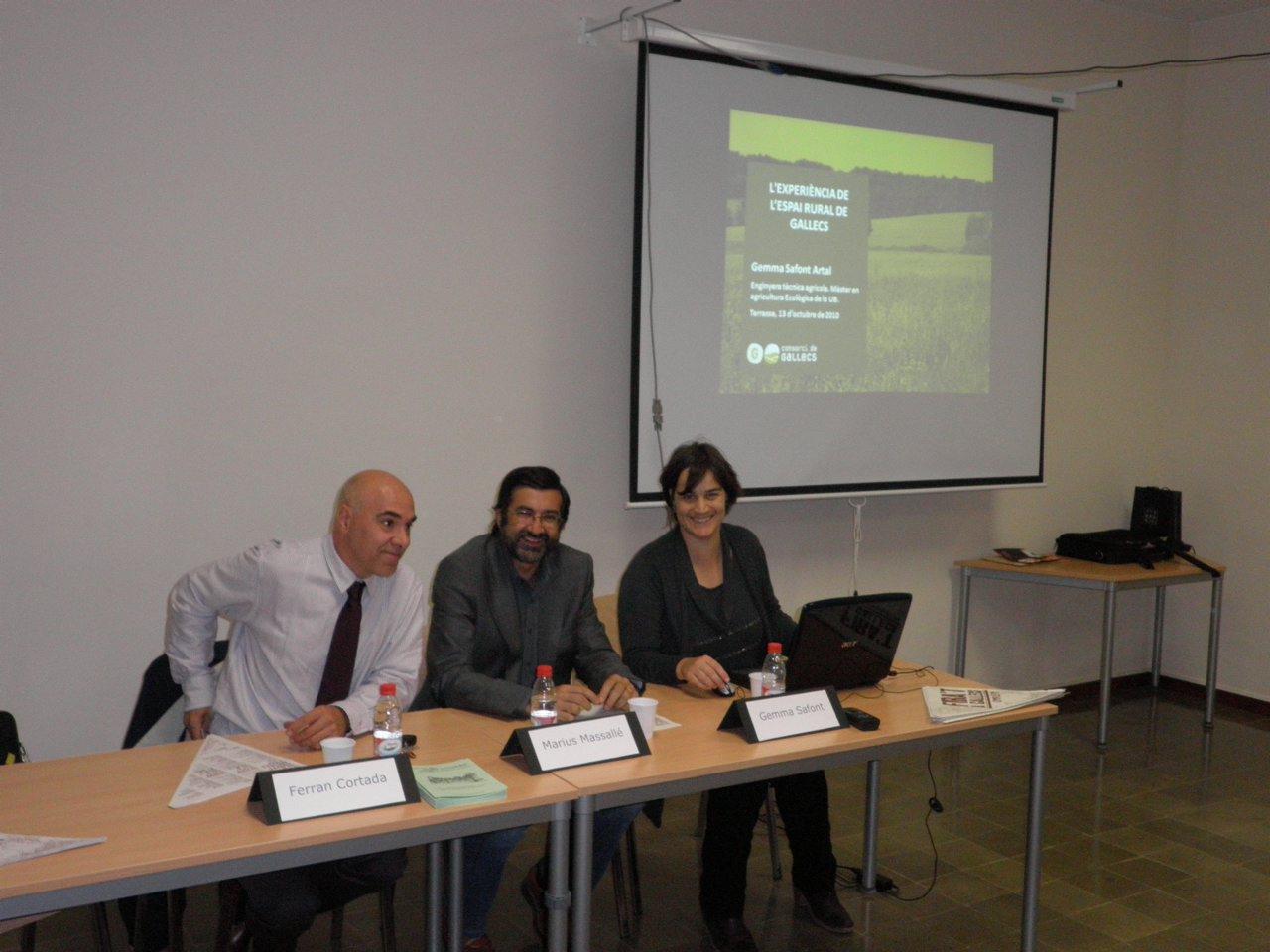 Conferència sobre l'espai rural de Gallecs